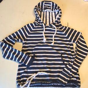 Girl's Superdry Shipping Co nautical sweatshirt